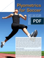 Plyometrics Training for Soccer