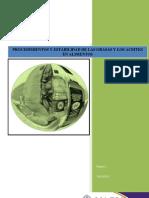 Procedimiento y Estabilidad de Grasas y Aceites en Alimentos