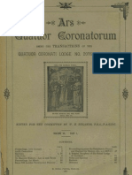 Ars Quatuor Coronatorum, Vol. 20 (1907)