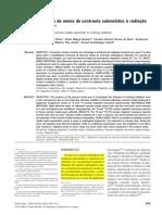 Artigo - Avaliação de meios de contraste submetidos à radiação