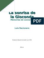 Luis Racionero - La Sonrisa de La Gioconda