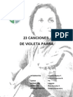 23 Canciones de Violeta Parra (1)