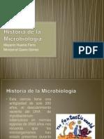 Historia de la Microbiolog+¡a
