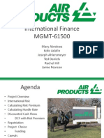 International Finance Template