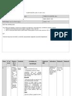 Planificación  tecnologia 5° abril