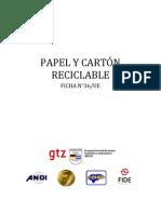 36-Papel y Carton Reciclable
