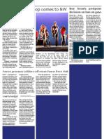 Newspaper Design - Inside Page