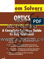 The Optics Problem Solver, Fogiel - REA Publishers