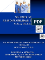 Responsabilidad Por Malapraxis