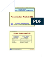 PSE4NE2 - Power System Analysis 101