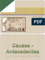 Descubrimientos Geográficos del siglo Xlll - XVll.pptx