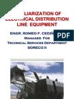 Familiarization of DX Line Equipment