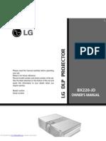 Lg Proyector Bx220jd