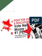 Vote Neil Moore #1 for NUS NEC