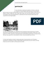 ONU Brasil-A história da Organização