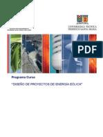 DISEÑO DE PROYECTOS DE ENERGÍA EÓLICA