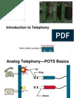 CISCO Introduction to Telephony