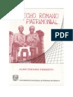 Derecho Romano Patrimonial - Ferretti Aldo Topasio