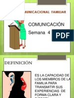 Sistema de Comunicacional de Familiar
