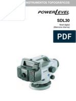 Manual Nivel Electronico SDL30
