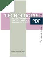 Tecnología I (Procesos)