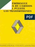 RENAULT Embrague, caja de cambios y grupo diferencial(IGUAL AL DE 219MB QUE ANDA POR AHÍ PERO COMPRIMIDO).