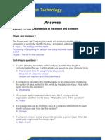 Answers 1