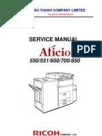 Service Manual A550