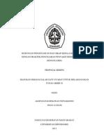 Hubungan Pengetahuan Dan Sikap Kepala Keluarga (Kk) Dengan Praktek Pencegahan Penyakit Demam Berdarah Dengue