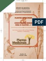 Cartilha Plantas Medicinais - boas práticas de produção
