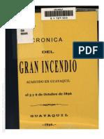 Cronica Del Gran Incendio de Guayaquil