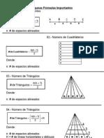 conteo de figuras -Fórmulas Importantes