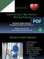 Implementing a Best Practice Wellness Program