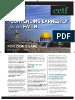 Contending Earnestly for the Faith - November 2012