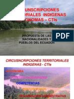 02_Circunscripciones Territoriales Indígenas autónomas Ecuador