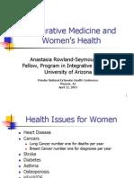 Integrative Medicine and Women's Health