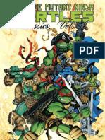 Teenage Mutant Ninja Turtles Classics, Vol. 4 Preview