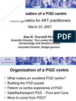 Basic Genetics ion Pgd Centre Thornhill