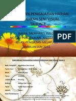 Rancangan Pengajaran Harian Pendidikan Seni Visualtahun 3