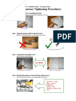 7 Steps Fastener Tightening Procedures