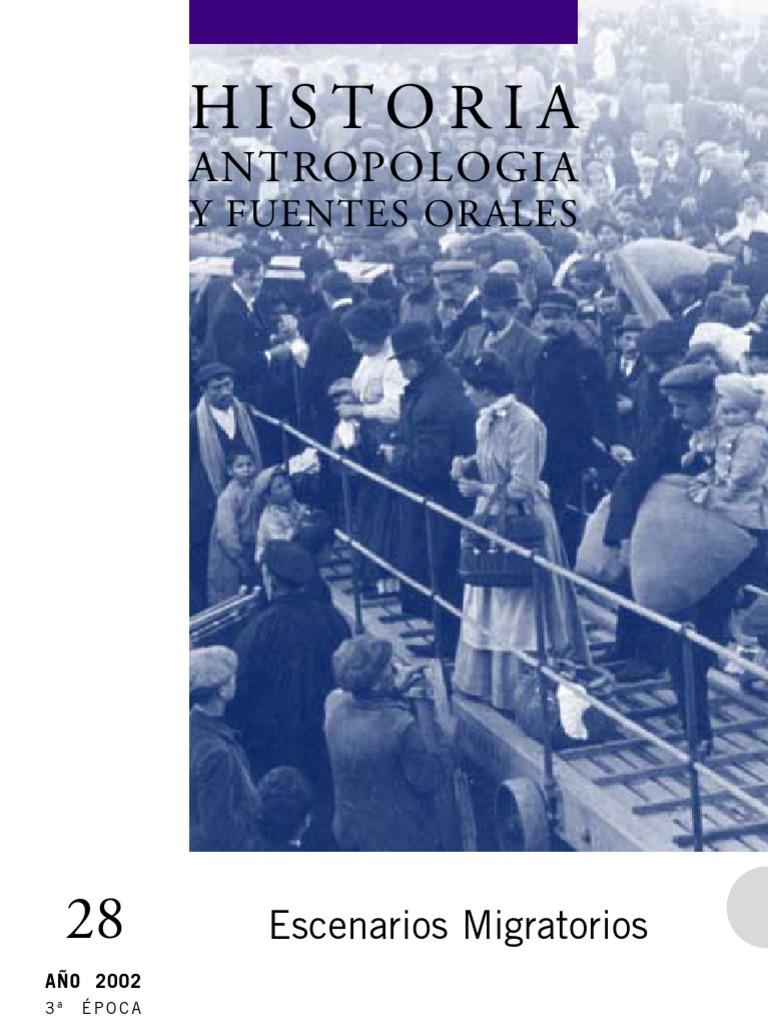 Revista historia, antropología y fuentes orales, N° 28