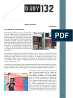 Boletín de Prensa DM #YoSoy132