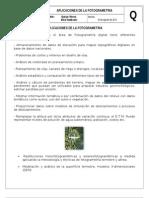 Investigacion Aplicaciones de La Fotogrametria