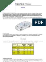 Mecanica Virtual Sistema de Frenos