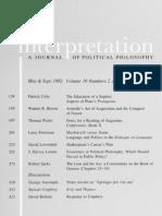 Interpretation, Vol 10-2-3