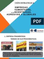 Empresa Fragmentada, Concentrada, Agresiva y Global