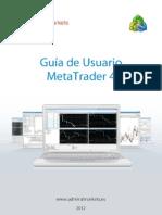 Guia de Usuario de MetaTrader4 Admiral Markets