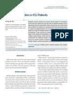 Acid-Base Disorders in ICU Patients 10