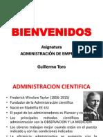 Teoria Cientifica y Clasica de La Administracion