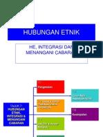 Hubungan Etnik_Integrasi Cabaran